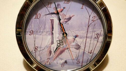 Flushing Pheasants clock