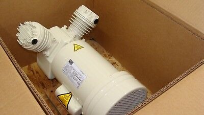 Schulz Dental Air Compressor Head 1hp Oil Free 2 Cylinder Electric 115230 Volts
