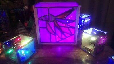 stain glass light box
