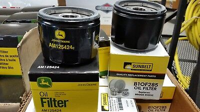 Briggs Stratton John Deere - New  John Deere AM125424 Oil Filter Briggs and Stratton