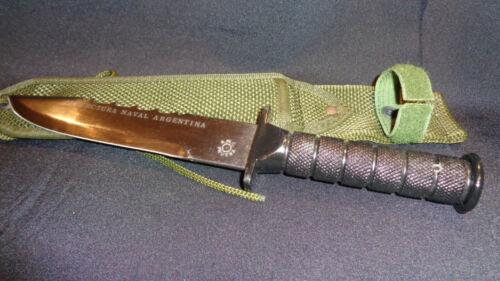 ARGENTINE COAST GUARD COMMANDO FIGHTING KNIFE.  EXTREMELY RARE!!!