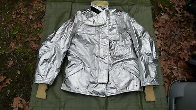 Janesville Lion Apparel Firefighter Turnout Gear Fireman Jacket Size 4832l