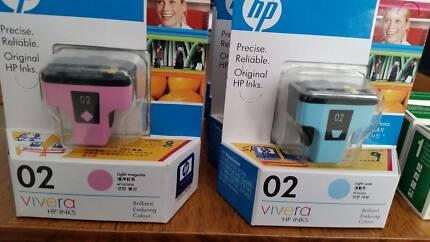 15 Inks for HP inkjet printer, Genuine and compatible inks