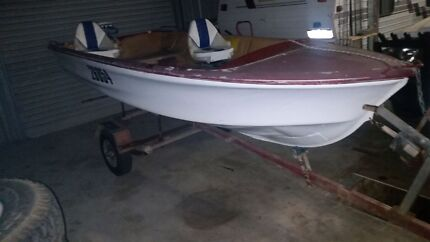 14ft tinny with trailer and motor Geraldton 6530 Geraldton City Preview