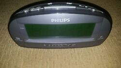 Clock Radio Large Display Philips AJ3540 Dual Alarm AM FM in GREAT CONDITION !!!