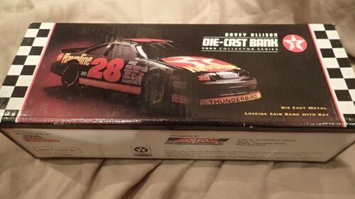 TEXACO RACING 1993 DAVEY ALLISON Havoline 1/24 Champion NASCAR Diecast #28 Bank