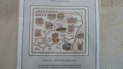 Aberdeenshire 'Classic Embroidery ' Cross stitch kit - NEW