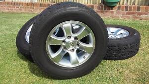 Toyota Land Cruiser Prado Wheels & Tyres Roselands Canterbury Area Preview
