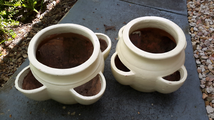 Planter herb pots x2