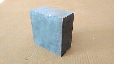 2 X 4 X 4 Steel Bar Thick Block Target Plate Blacksmith Bench Hammer Plate