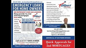 EQUITY LENDING! 1st/2nd Mortgages and Construction Loans!