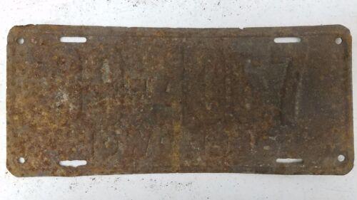 1936 IOWA Guthrie County License Plate 39-4067