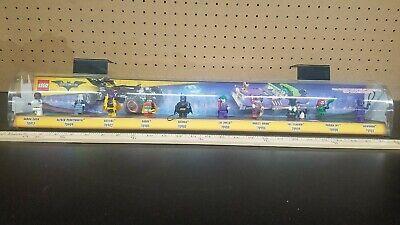 Batman Lego Movie Mini figure Store Display DC Target Exclusive Complete (Us Target Stores)