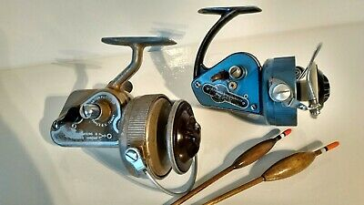 Vintage Classic JW Young & Sons AMBIDEX Casting and Mark Nine Reels