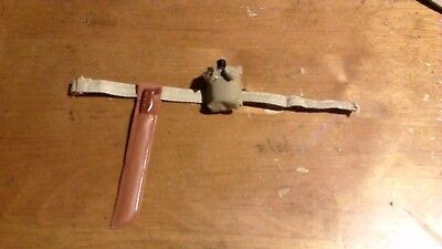 Gi Machete - GI Joe 3SB professionally made machete accessory set brand new unused
