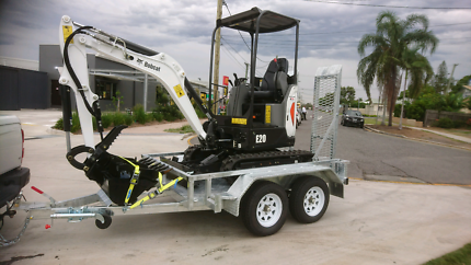Excavator Hire from $160 p/d