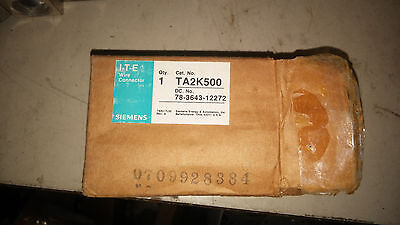 SIEMENS TA2K500 NEW IN BOX WIRE CONNECTOR SEE PICS #B47