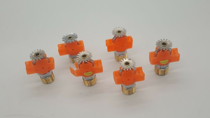 TYCO TY323 TY-FRB K5.6 155F Galvanized Pendent QR Fire Sprinklers (set of 7)