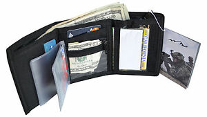Every-Day-Carry-Tactical-Strike-Tri-Fold-Mens-Tactical-Wallet-4-Colors