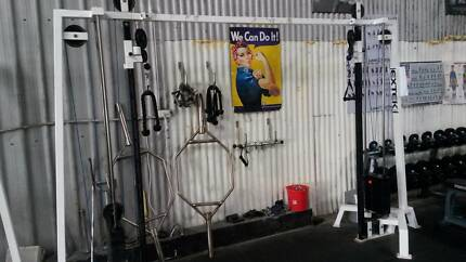 Cable Machines, Gym Fitness, Commercial Gear Adamstown Newcastle Area Preview