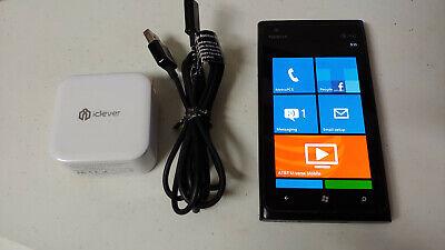Nokia Lumia 900 - 16GB - Black (AT&T) UNLOCKED Windows Smartphone