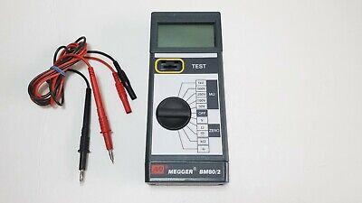 Avo Megger Bm802 Multi Voltage Insulation Tester