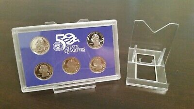 """*15 Easel DK2-1//8/"""" Display Stand Coin in PCGS NGC Air-Tite Capsule"""