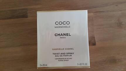 Perfume Coco Chanel Mademoiselle Purse spray + 2 refills