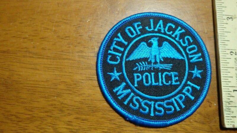 JACKSON MISSISSIPPI  POLICE DEPARTMENT   OBSOLETE SHOULDER PATCH BX 10#35
