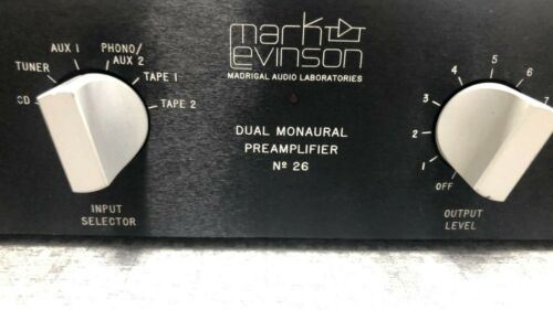 Mark Levinson NO. 26 with 226--Very good condition