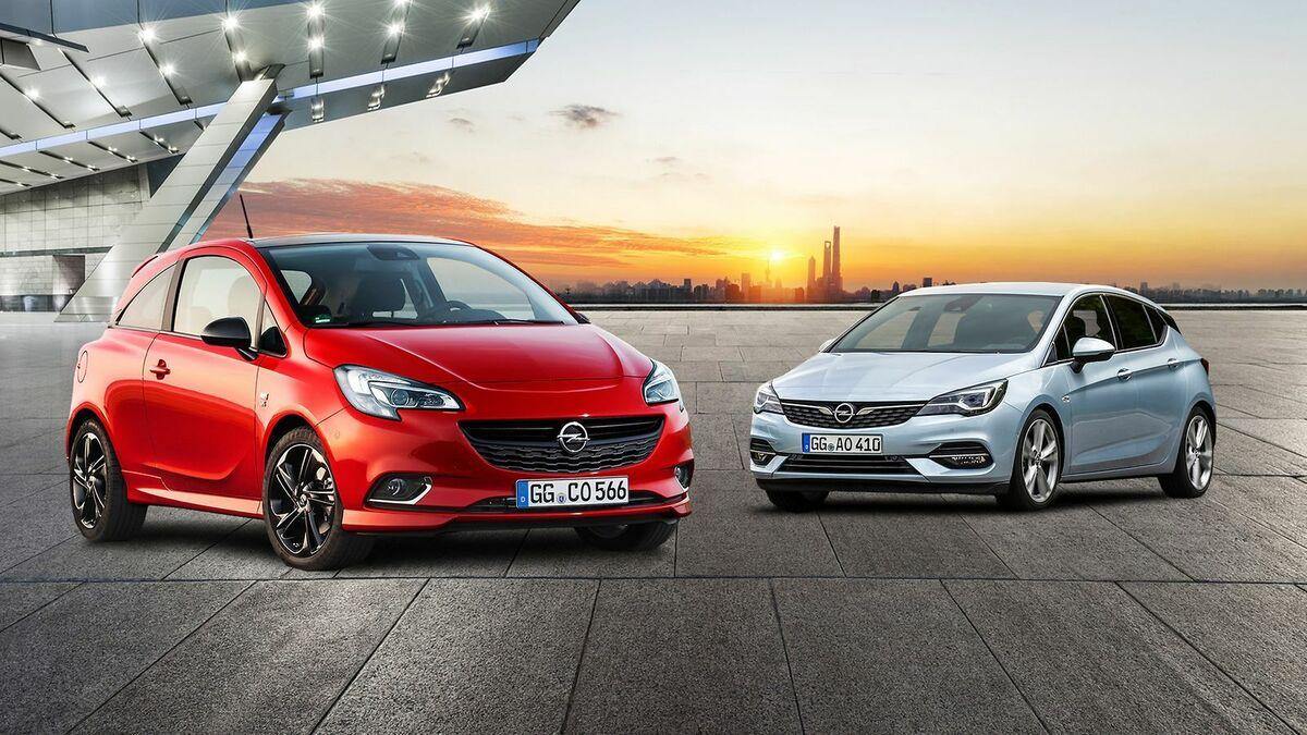 Opel Corsa E Vs Opel Astra 2020 Vergleich Mobile De