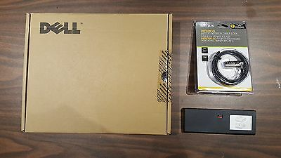 NEW Dell E-Port PR03X USB 3.0 Docking Station Replicator with lock and spacer