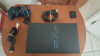 Sony PlayStation 2 PS2 System Console SCPH-30001 Lot Bundle WITH BOX
