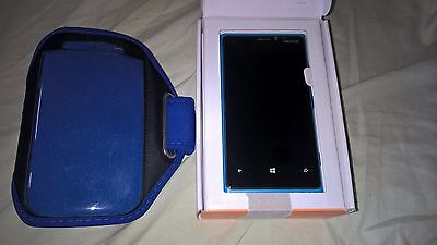 Nokia Lumia 920 32GB Cyan Blue AT&T Smartphone Bundle