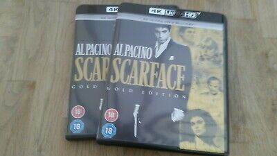 Scarface 4k. Uhd blu rays. Brand new. Cheap. Grab quick