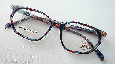 Markengestell Brillenfassung von Nigura bunte Brillen Butterfly frame Grösse S
