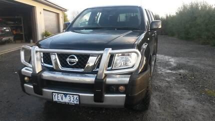 Nissan Navara 2011 D40 ST Duel Cab Ute 4x4 Warragul Baw Baw Area Preview