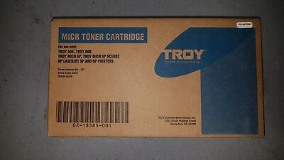 Genuine MICR TROY 02-18583-001 Black Toner Cartridge HP LaserJet 6P BNIB 001 Troy Hp Laserjet