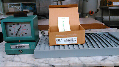 Acroprint 150NR4 Electric Print Time Recorder - Card Punch/stamp...no -
