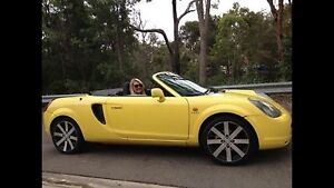 Mr2 spyder Toyota Convertible 2001 Caringbah Sutherland Area Preview