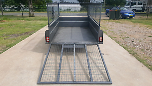 8x5 feet high side box trailer with ramp for HIRE Cheap Kemps Creek Penrith Area Preview