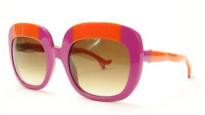 Face A Face Sunglasses Frame BOCCA Lova 1 4026 Acetate Fuschia Orange Italy Made