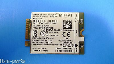Dell E7270 E7470 E7370 DW5811e EM7455 LTE 4G WWAN Module Card (REV A00) MR7VT