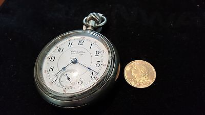 Swiss Helvetia 20 Francs Gold Coin + Free Howard private label pocket watch Runs
