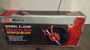 As new in box wheel clamp security disc 195-235mm fit tyres Varsity Lakes Gold Coast South Preview
