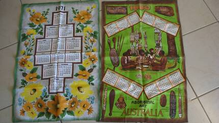VINTAGE TEA TOWELS FROM THE 70s/80s ONLY 50c EACH! Beaudesert Ipswich South Preview