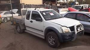 Holden Rodeo RA V6 MANUAL EXTRA CAB ALLOY TRAY ( NOW WRECKING ) Loganlea Logan Area Preview