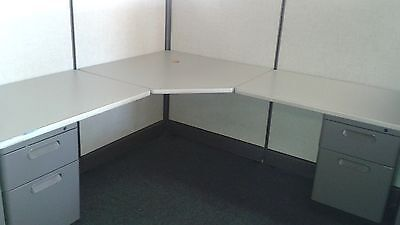 [10] Herman Miller AO2 Workstations, FREE LOCAL DELIVERY