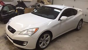 2010 Genesis coupe 2.0 Turbo SAFETIED.