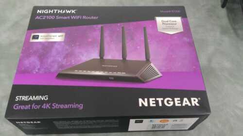 NETGEAR Nighthawk Wi-Fi Router - AC2100 007